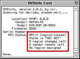 how to change regional settings on a dvd