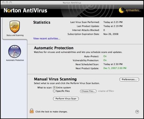 Symantec antivirus for virtual machines